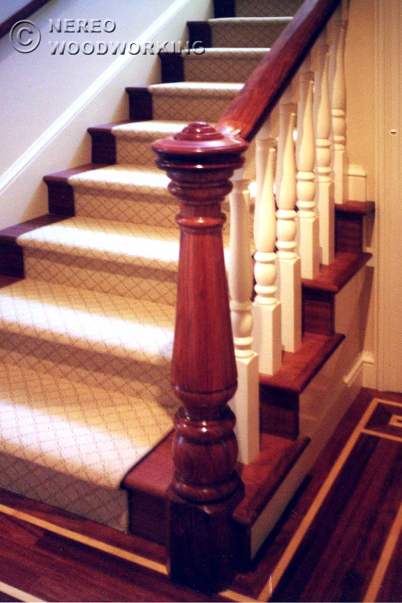Craftsman and victorian stairs for Victorian woodwork