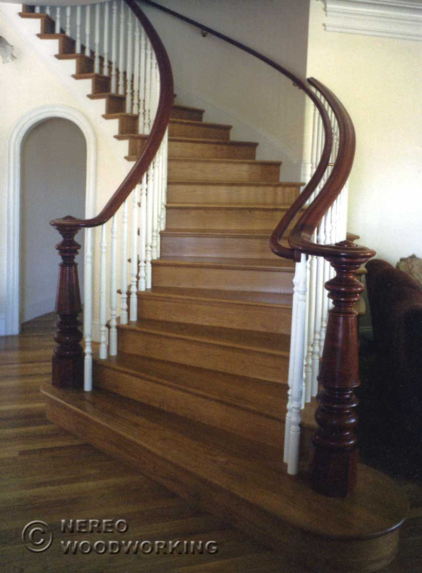 Craftsman And Victorian Stairs